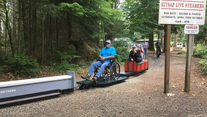 Kitsap Live Steamers now has a wheelchair accessible car for its miniature, ride-on railroad.