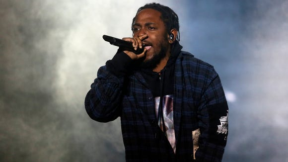 Rapper Kendrick Lamar performs during Weekend 1 of the Austin City Limits Music Festival on Oct. 1 in Austin. Lamar, Radiohead, Mumford & Sons and LCD Soundsystem will again top the bill during the festival's second weekend.
