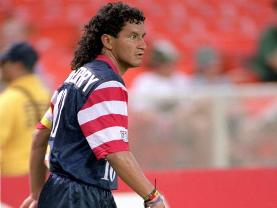 With hair like that, Marco Etcheverry achieved MLS