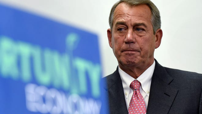 "House Speaker John Boehner, R-Ohio, was ""optimistic"" the trade bill would be approved."