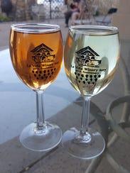The La Pinata and La Dolce Viña at La Viña Winery.