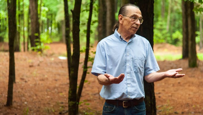 Somerset County resident Tom Kerchner speaks to The Daily Times on why he feels moving from his dream home may be the only option due to the push to build larger and more concentrated poultry houses causing health risks to his family.