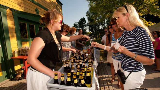 Hops on the Hill features craft beer and wine samples along with food samplings from Green Bay area restaurants. This year's event is Thursday at Heritage Hill State Historical Park in Allouez.