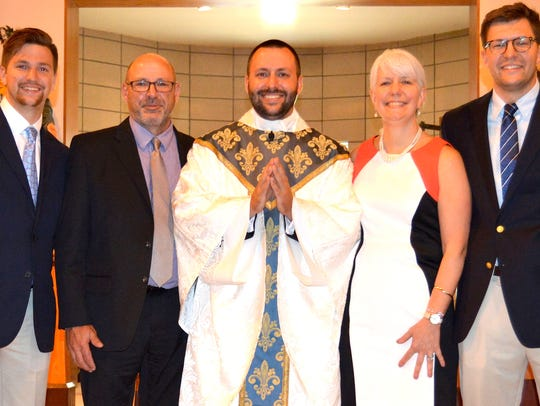 Father Edmund Herzog was ordained May 27 in Wichita,