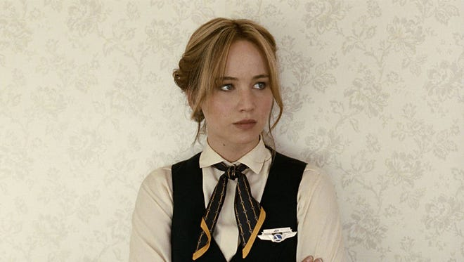 "Jennifer Lawrence in ""Joy."" The movie opens Friday at Regal West Manchester Stadium 13, Frank Theatres Queensgate Stadium 13 and R/C Movies Hanover."