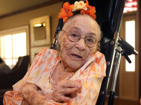 Gertrude Weaver AP Oldest Living American