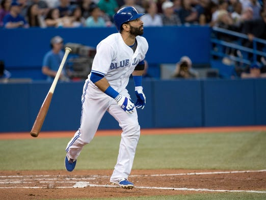 AL captain -- Jose Bautista, Blue Jays: 17 home runs