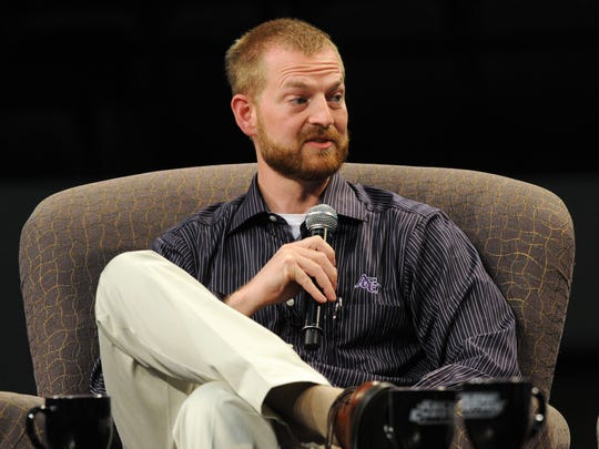 Dr. Kent Brantly, pictured during his return to Abilene in 2014, was working with Samaritan's Purse in Liberia when he was infected with Ebola. He was treated with an experimental drug called ZMapp at Emory University Hospital and got a blood transfusion from a Liberian teenager whom he treated. Brantly later donated blood to other Ebola patients.