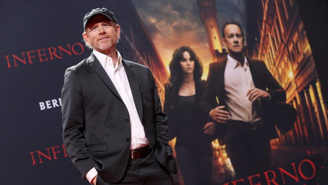 Ron Howard attends the German premiere of the film 'Inferno' at Sony Centre on October 10, 2016 in Berlin, Germany.