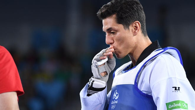 Steven Lopez is a two-time Olympic champion in taekwondo.
