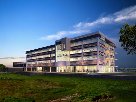Pictured is a rendering of CSRA's new Integrated Technology Center in Bossier City that is expected to open this summer. The 96,000 square foot facility will showcase a specialized Next-Generation technology workplace and Data Center.