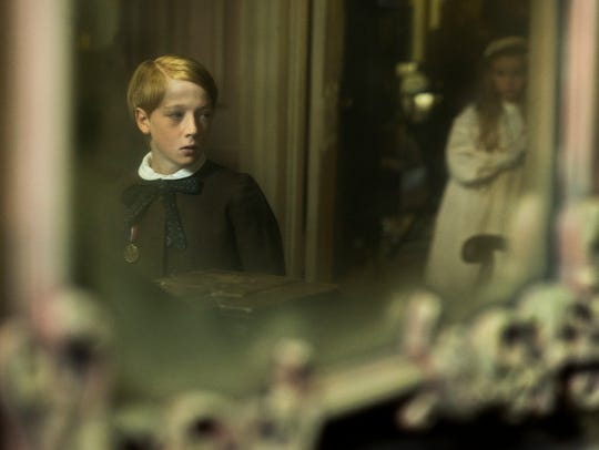 "Oliver Zetterstrom stars in ""The Little Stranger."""