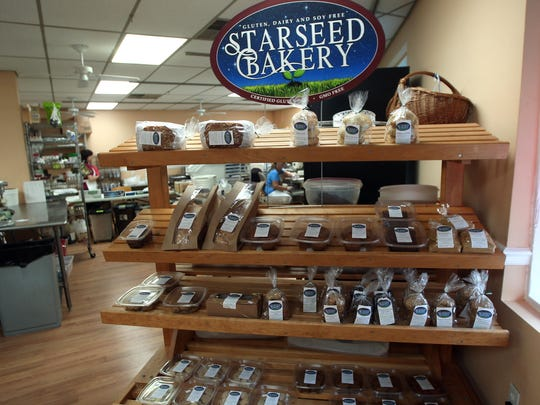 Starseed Bakery won the Outstanding Green Small Business Award. It makes products that are gluten-free, dairy-free, soy-free, and GMO-free.