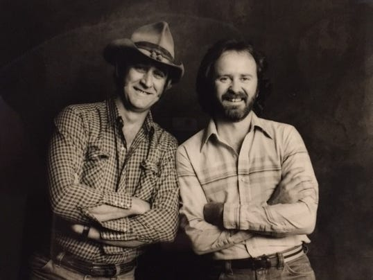Don Williams and Garth Fundis
