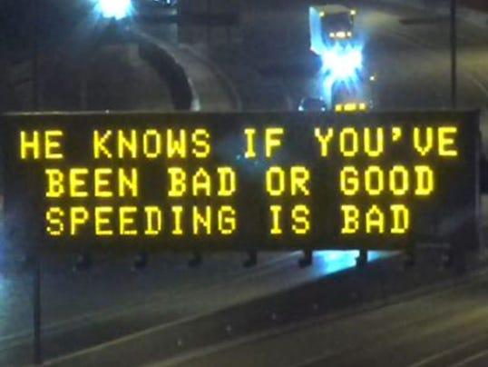 ADOT signs