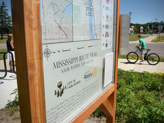 Trail information is one of the new additions to a