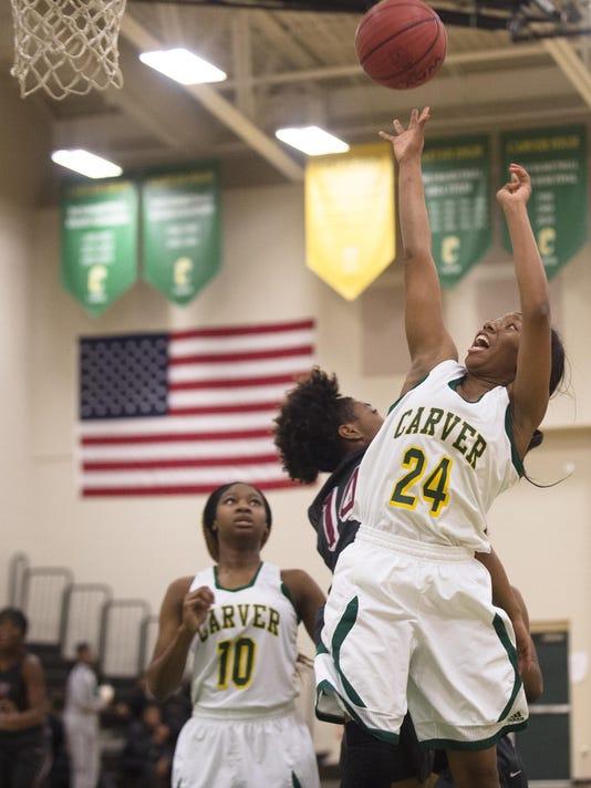 Girl's Basketball: Carver vs. Stanhope Elmore 09