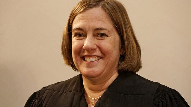 Judge Mary S. McElroy in a 2019 photo.
