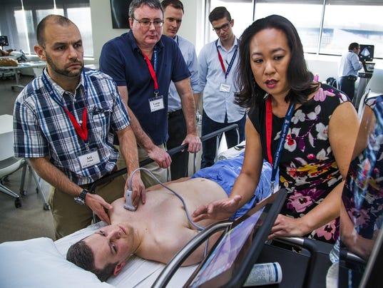 UA critical care simulation
