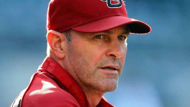 Kirk Gibson took over as manager midway through the 2010 season.