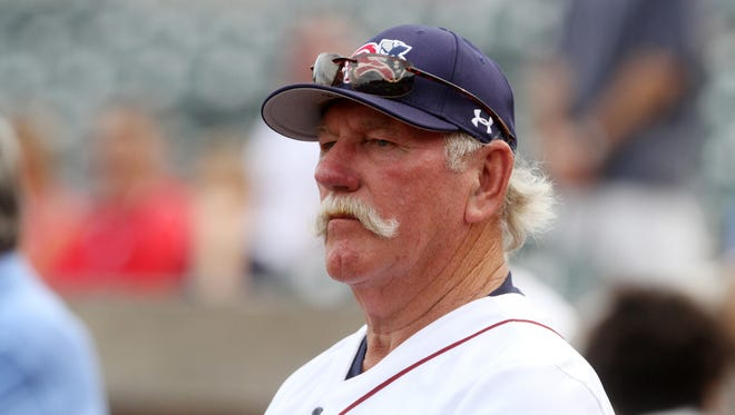 Somerset Patriots Manager Emeritus Sparky Lyle.