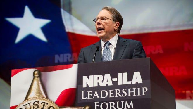 NRA Chief Executive Officer Wayne LaPierre