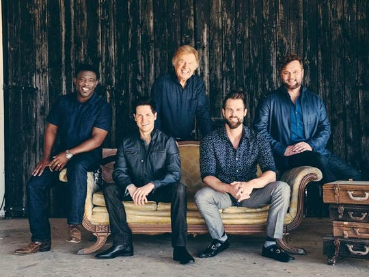Gaither Vocal Band will perform contemporary and classic gospel music in concert at 6 p.m. Saturday at Christian Heritage Church