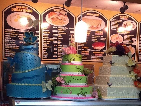 Cristal's Bakery & Mexican Food in Glendale.