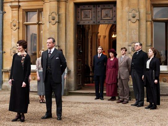 AP TV-Downton Abbey Preview