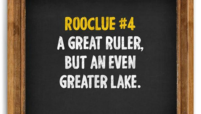 Roo Clue No. 4. Many Bonnaroo fans believe this refers to folk rockers Lord Huron.