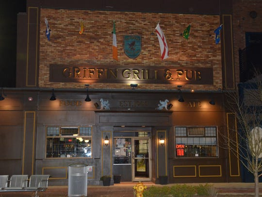 The Griffin Grill & Pub, 38 West Michigan Avenue in