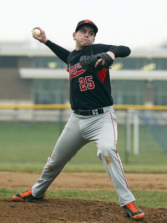 Tyler Julian fired a four-hit complete game on Sunday to lift Campbelltown to an 8-1 victory over Fredericksburg that clinched a spot in the county championship game.