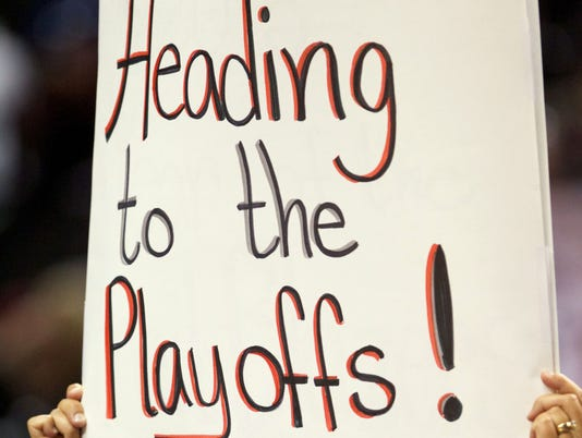 heading to the playoffs