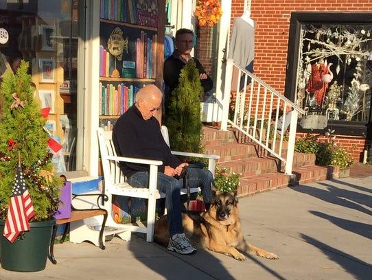 Vice President Joe Biden spends part of his birthday