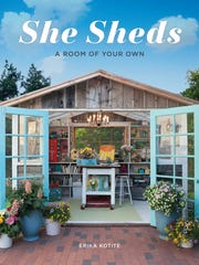 Real sheds created by homeowners are featured in this