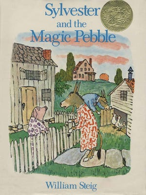 One of my all-time favorite children's books: William Steig's 'Sylvester and the Magic Pebble.'
