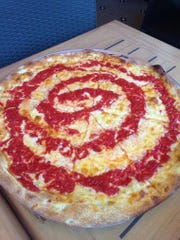 Maruca's is known for their tomato pies. They cook