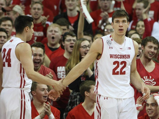 NCAA Basketball: Maryland at Wisconsin