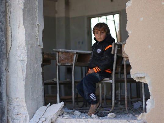 AP SYRIA UN REPORT I SYR