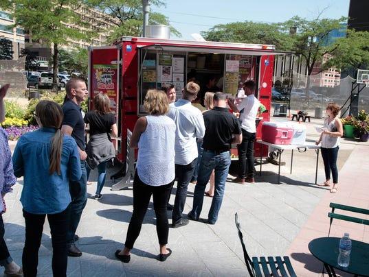 Cadillac Square Food Trucks