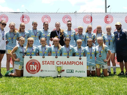The Murfreesboro FC Storm '03 soccer team recently reached the semifinals of the US Soccer Southern Regionals, held in North Carolina.