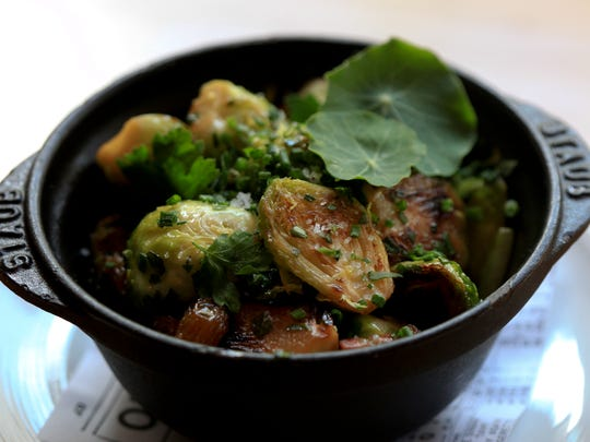 The Roasted Brussels Sprouts served at Proof on Main.   June 26, 2014