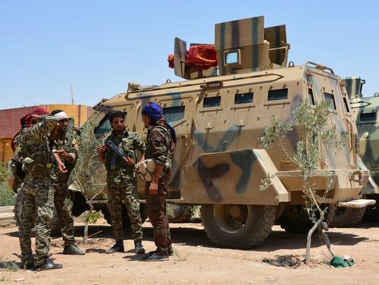 EPA SYRIA AL-RAQQA CONFLICT WAR CONFLICTS (GENERAL) SYR SY