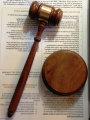 A judge's gavel