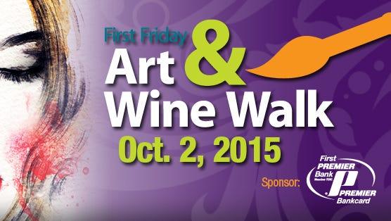 Art & Wine Walk logo