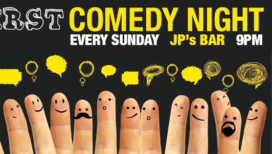 Check out the Syrup First Comedy Night every Sunday.