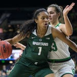 Michigan State women's basketball hammers Rhode Island, 82-38