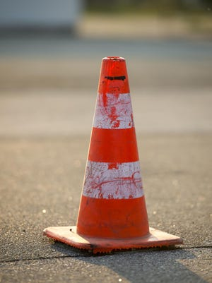 traffic warning cone