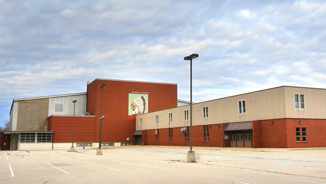 The Wigwam gym in Anderson sits vacant on Feb. 18, 2013, after decades of Indiana high school basketball history.