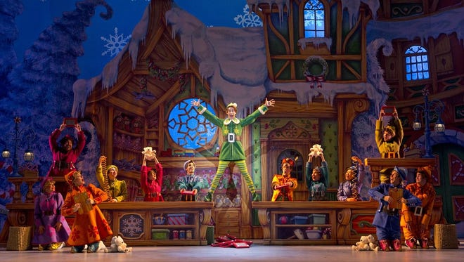 """Elf: The Musical"" starts its national tour at the Clemens Center on Friday and Saturday."